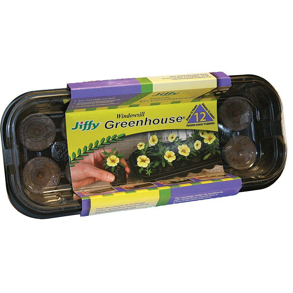 Jiffy Windowsill Greenhouse Kit
