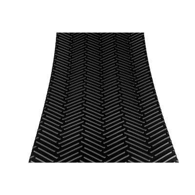 Treadway Black 8 in. x 18 in. Self-Adhesive Non-Slip Stair Tread Cover (Set of 3)