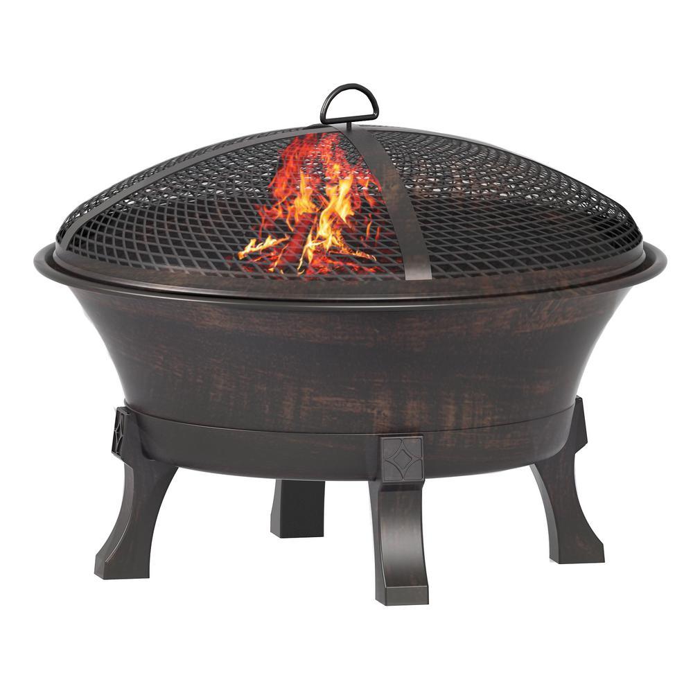 26 in. Del Oro Cast Iron Fire Pit