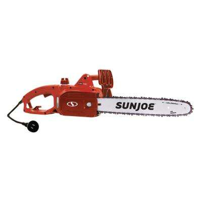 14 in. 9-Amp Red Electric Chain Saw