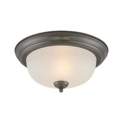 Ceiling Essentials 1-Light Oil Rubbed Bronze Flushmount