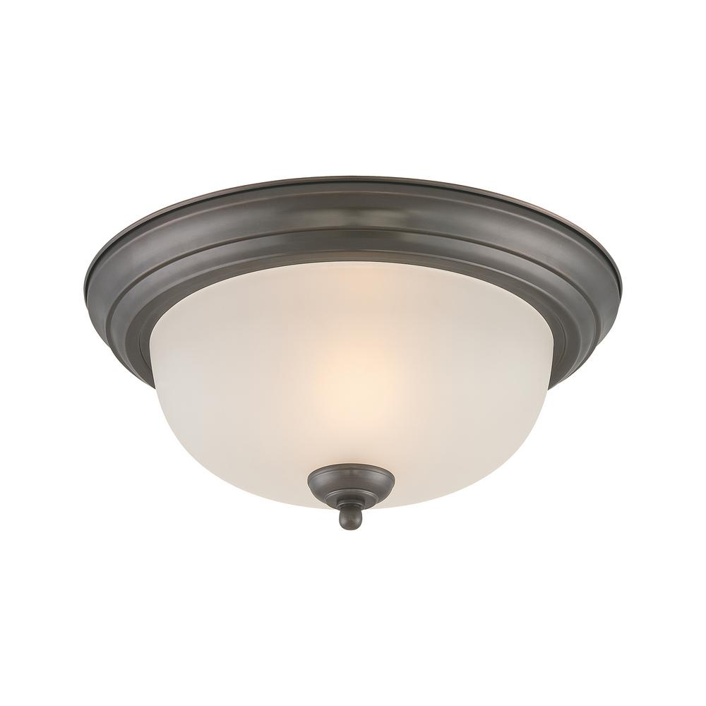 Ceiling Essentials 1-Light Oil Rubbed Bronze Flushmount