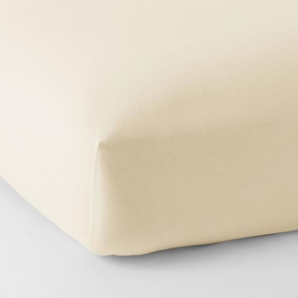 The Company Store Legacy Velvet Flannel Cream Solid Deep Pocket California King Fitted Sheet Ea76 Ck Cream The Home Depot