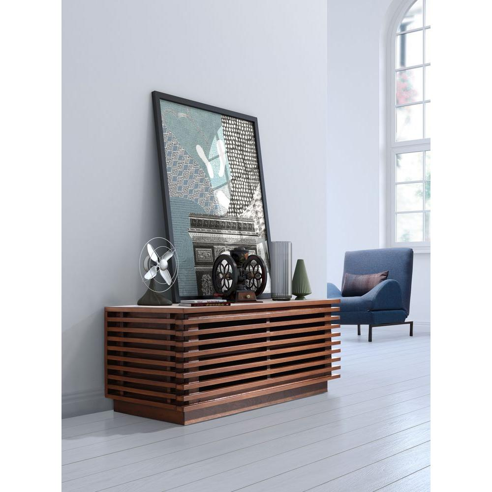 zuo linea walnut console table. zuo linea walnut console table  the home depot