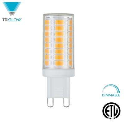 60-Watt Equivalent G9 Base Dimmable Soft White LED Light Bulb