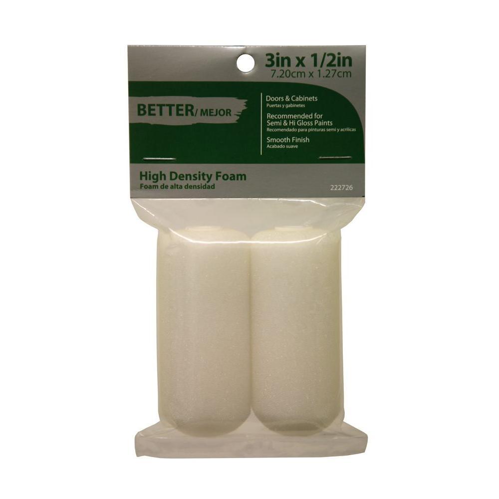 3 in. Ultra-Dense Foam Roller Covers (2-Pack)