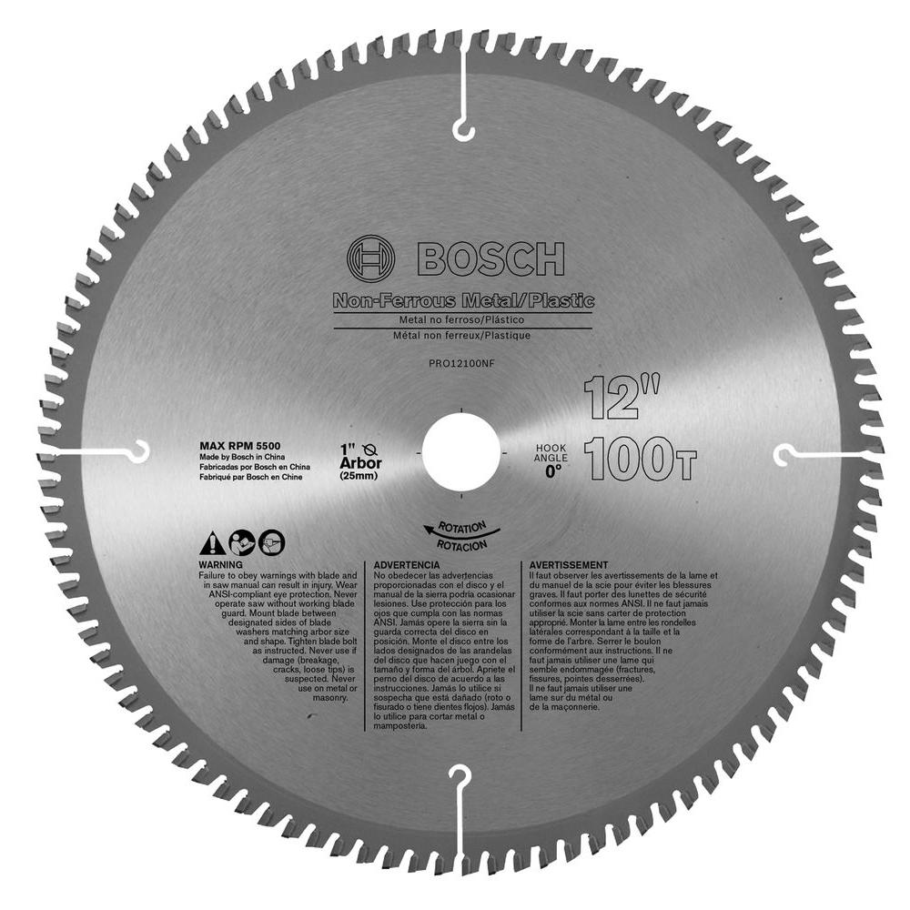 Bosch circular saw blades saw blades the home depot non ferrous blade box greentooth Image collections