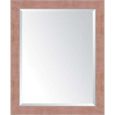 27 in. x 33 in. Framed Autumn Spice Large Mirror