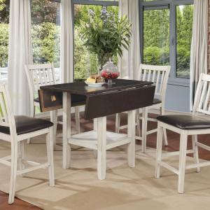 Incredible Furniture Of America Hayden Antique White With Espresso Caraccident5 Cool Chair Designs And Ideas Caraccident5Info