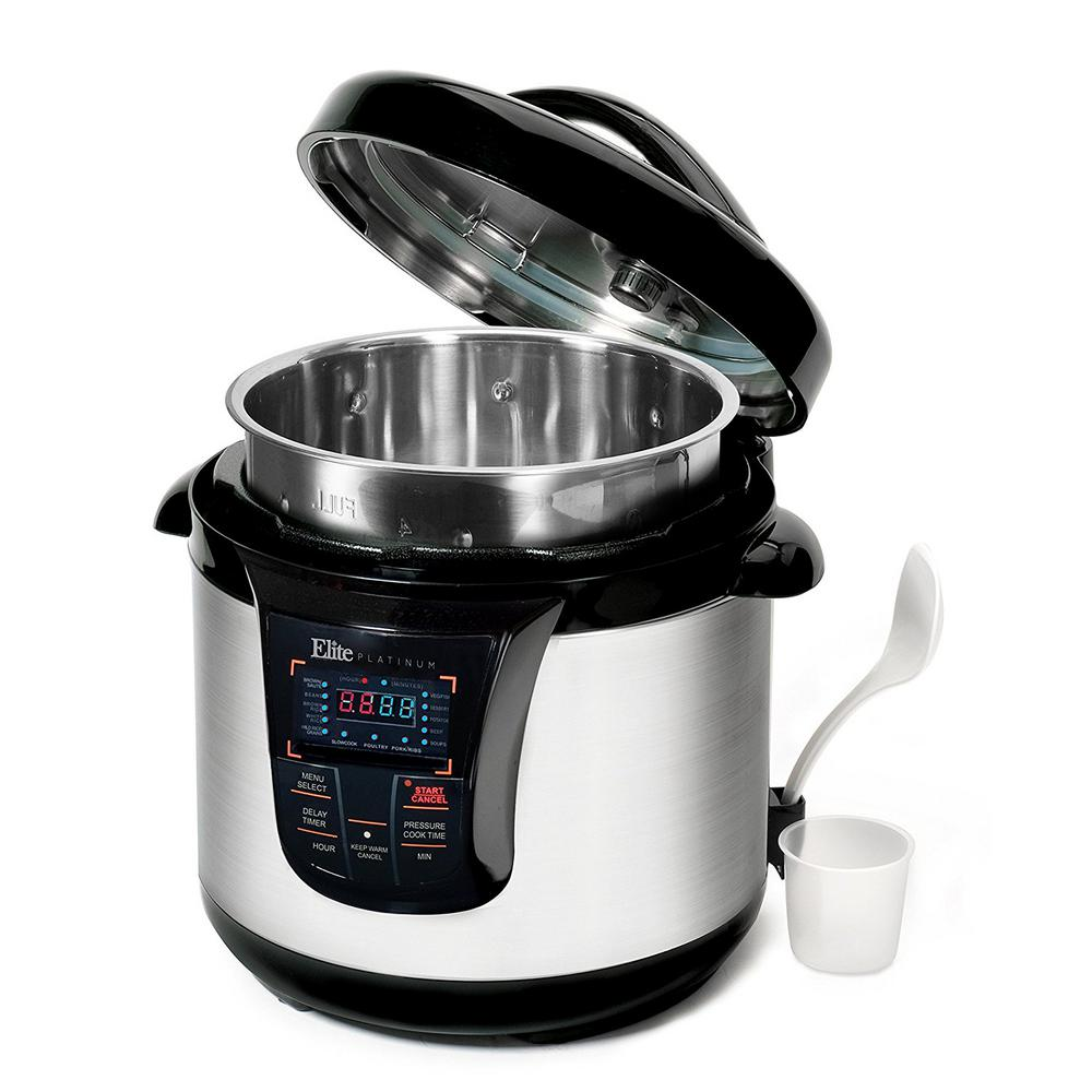 8 Qt. 13-Function Electric Pressure Cooker in Stainless S...