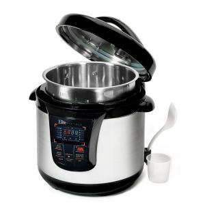 8 Qt. 13-Function Electric Pressure Cooker in Stainless Steel by