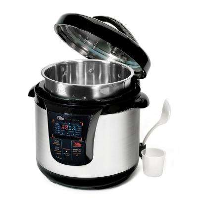 8 Qt. 13-Function Electric Pressure Cooker in Stainless Steel