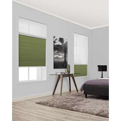 Blackout Cordless Brown Cellular Shades Shades The Home Depot