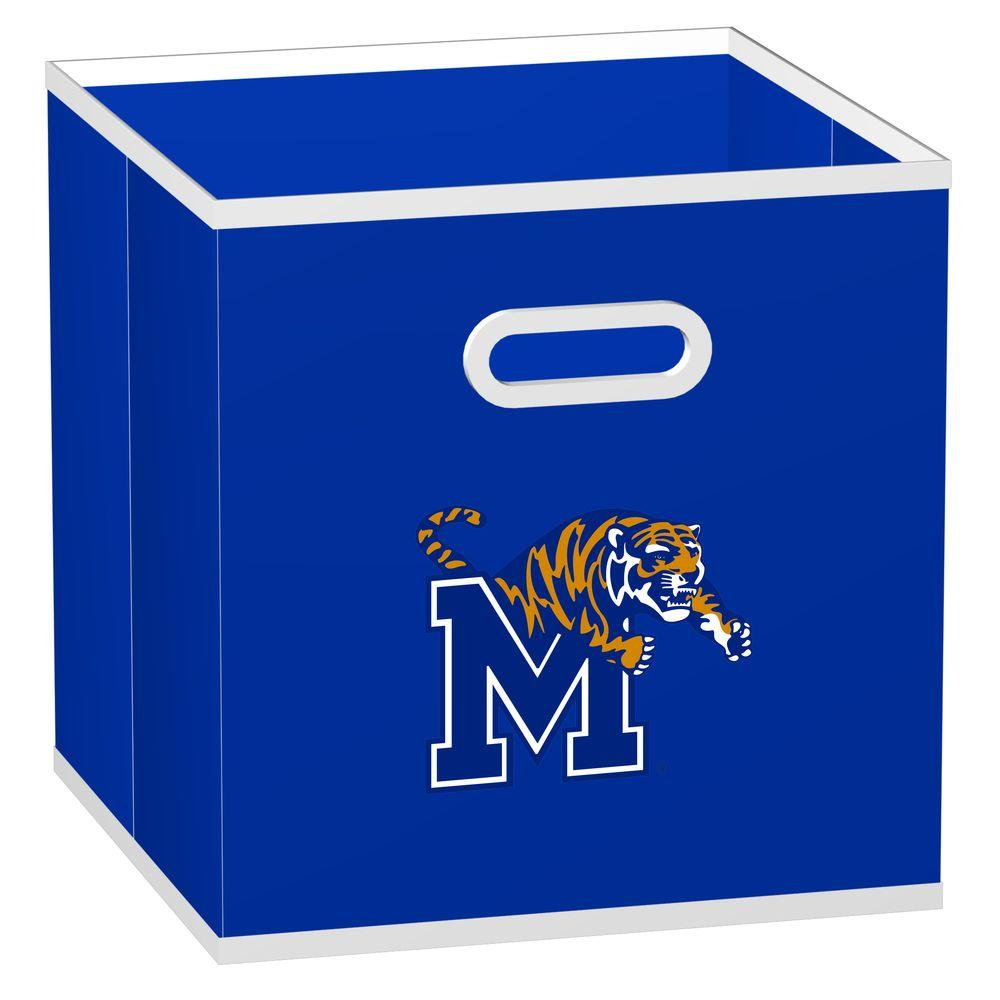 MyOwnersBox College STOREITS University of Memphis 10-1/2 in. W x 10-1/2 in. H x 11 in. D Royal Blue Fabric Storage Drawer
