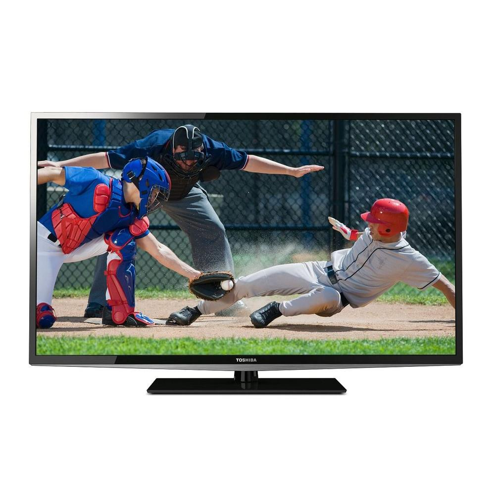 Toshiba 50 in. Edge-Lit LED 1080p 120Hz HDTV-DISCONTINUED
