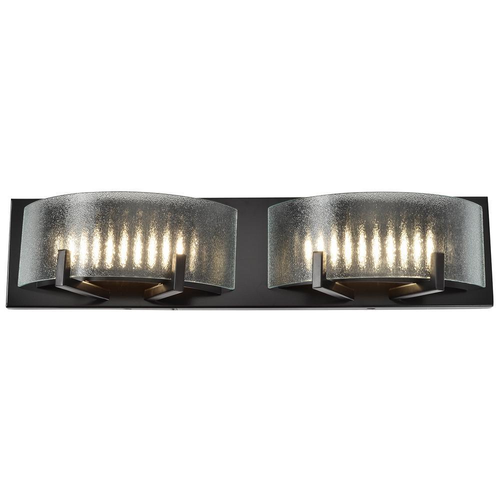 Varaluz Firefly 7-Watt Warm Bronze Integrated LED Bath Light