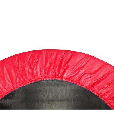 44 in. Red Mini Round Trampoline Replacement Safety Pad (Spring Cover) for 6 Legs