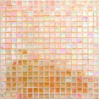 Breeze Passion Fruit 12-3/4 in. x 12-3/4 in. x 6 mm Glass Mosaic Tile