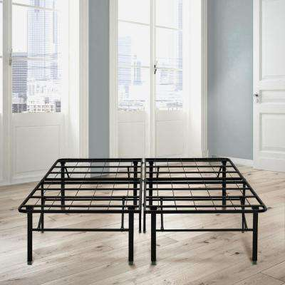 18 in. King Metal Platform Bed Frame