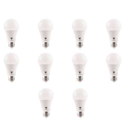 100 Watt Equivalent A19 Dimmable 1600 Lumen UL Listed and Energy Certified LED Light Bulb Daylight (10-Pack)