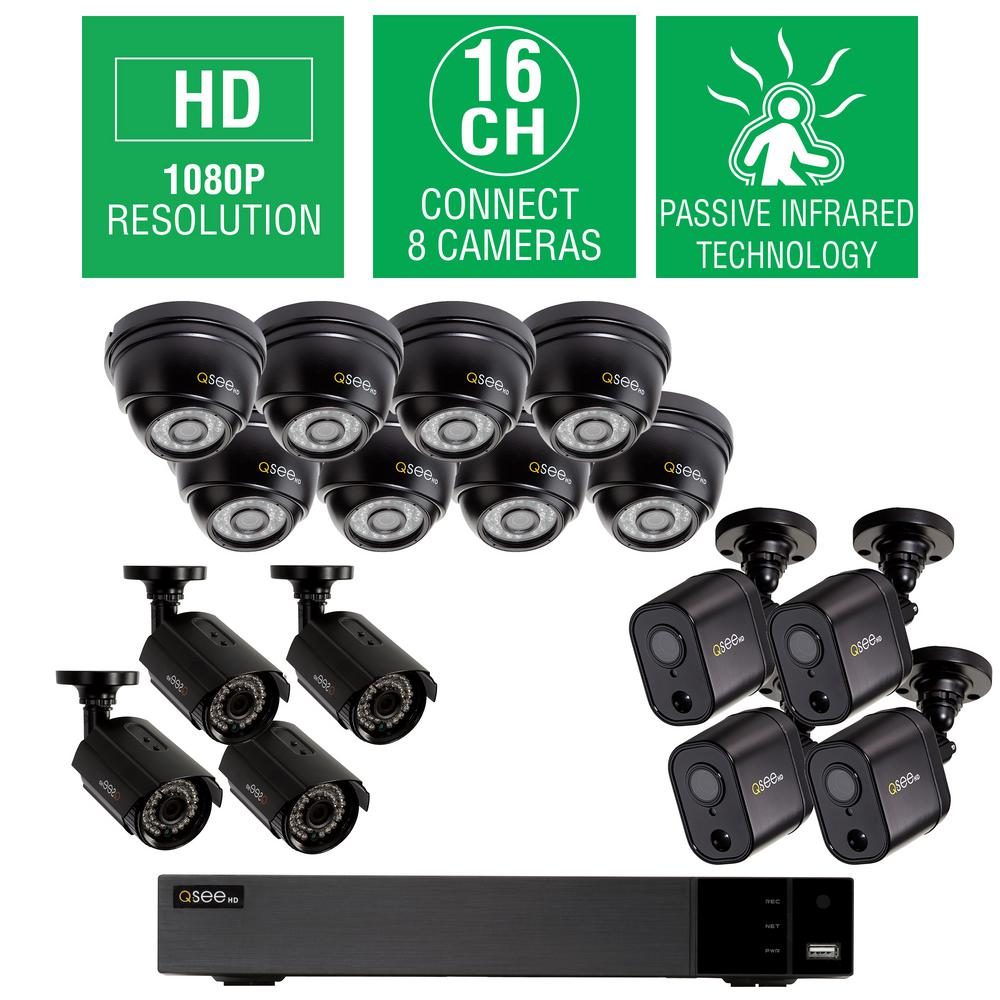 Night Owl 8 Channel 1080p Security System With 1tb Hdd Surveillance 16 Port Cctv Camera Wiring Diagram 2tb Hd Video Dome
