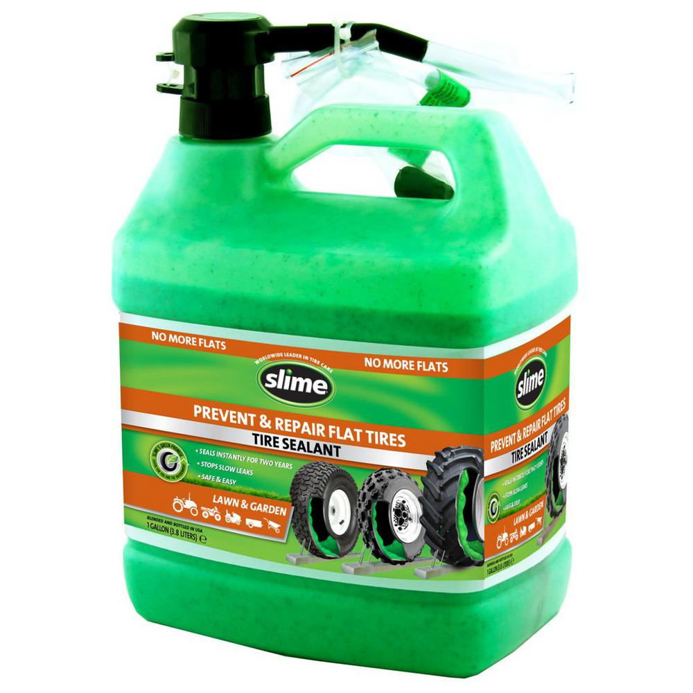 Slime 128 oz. Lawn Tire Sealant