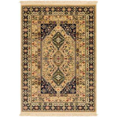 Perseus Butter 2 ft. x 3 ft. Indoor Area Rug