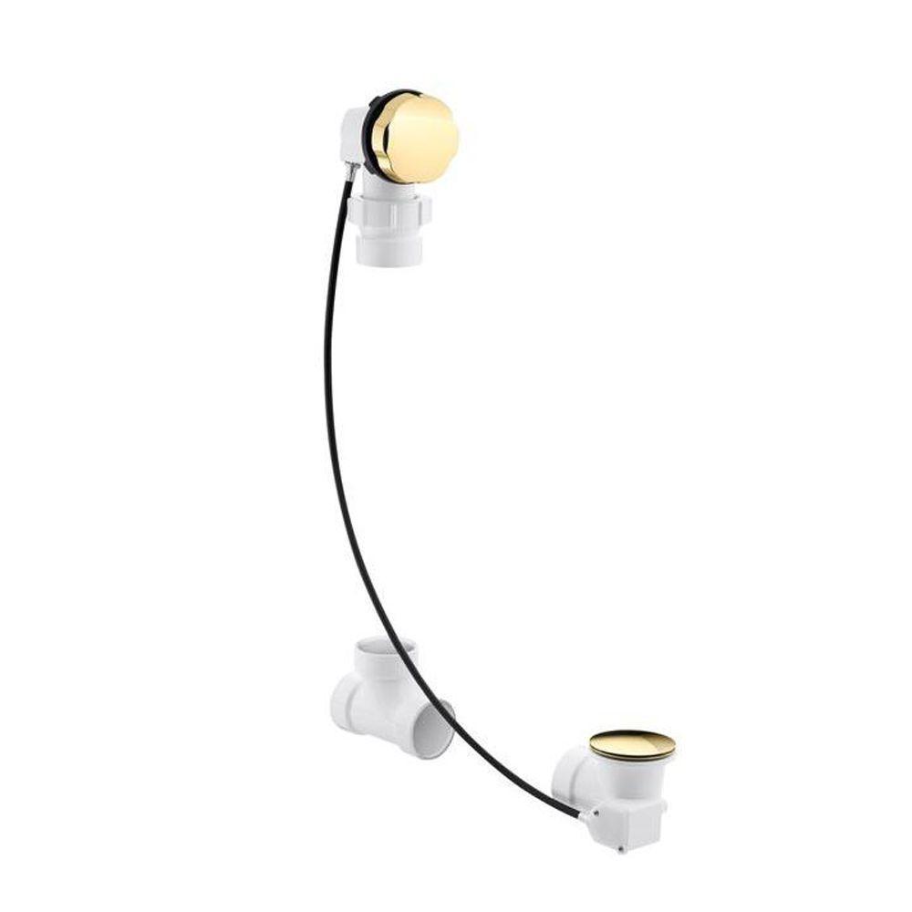 Kohler Clearflo Cable 1 1 2 In Bath Drain In Vibrant