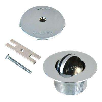 1.865 in. Overall Diameter x 11.5 Threads x 1.25 in. PresFlo Trim Kit in Chrome Plated