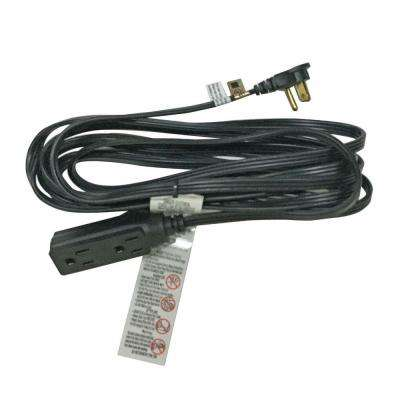 15 ft. 16/3 Black Tight Space Cube Tap Cord