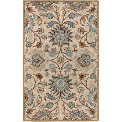 Cambrai Taupe 9 ft. x 12 ft. Indoor Area Rug