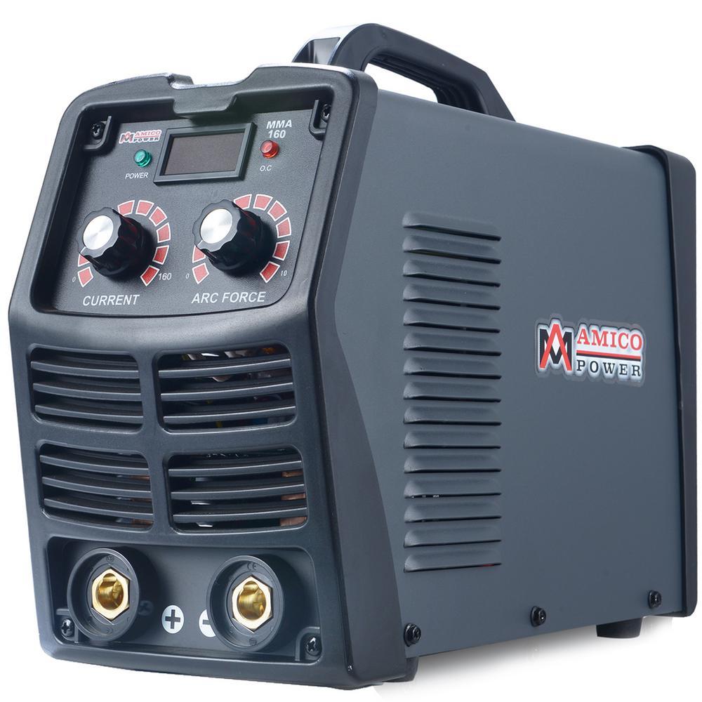 160 Amp Stick Arc DC Inverter Welder, 110/230V Dual Voltage Welding