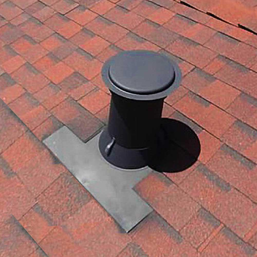 Gibraltar Building Products 6 In Aluminum Code Cap Base Vent Pipe Flashing Cc6b The Home Depot