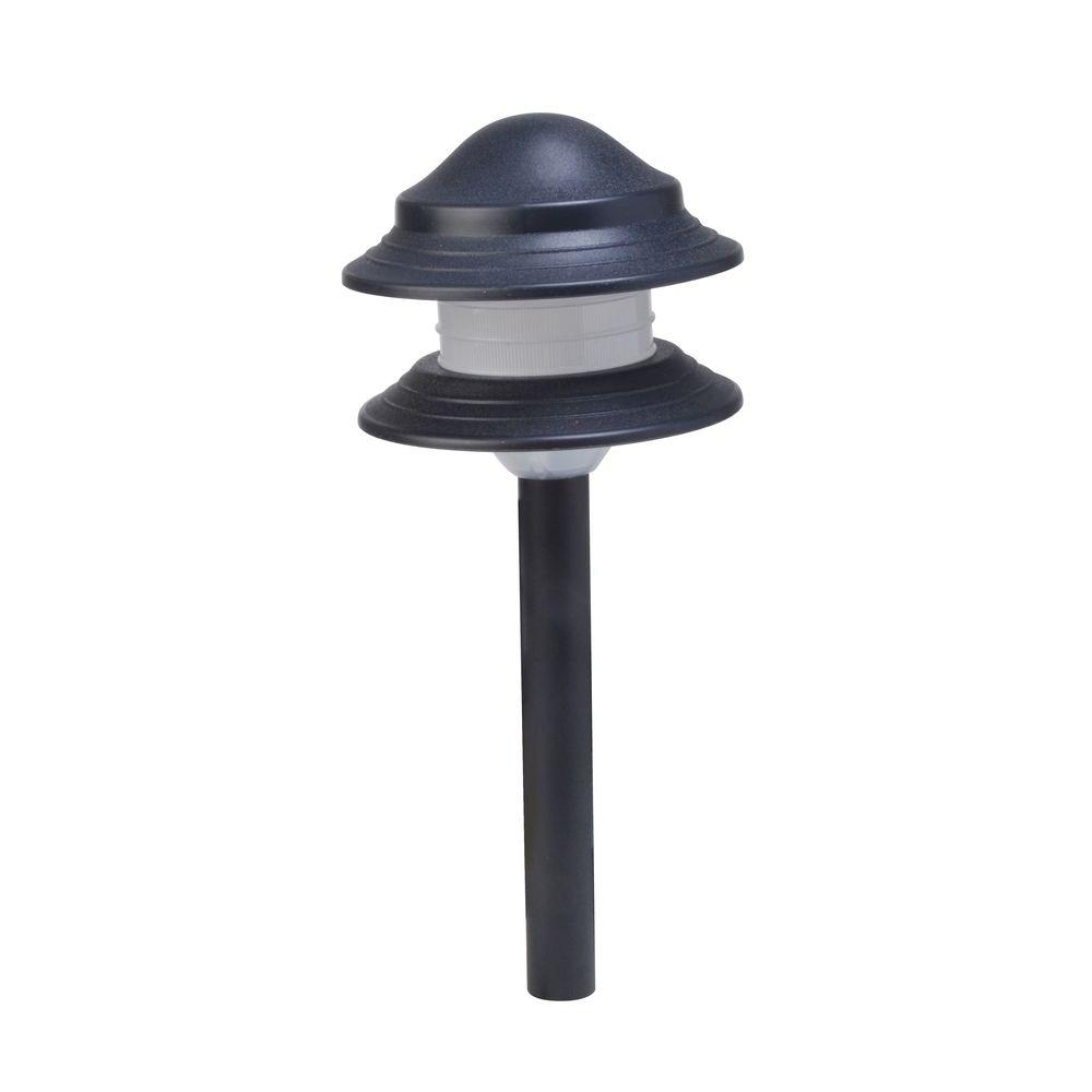 Moonrays 2-Tier Low-Voltage 24-Watt Black Outdoor