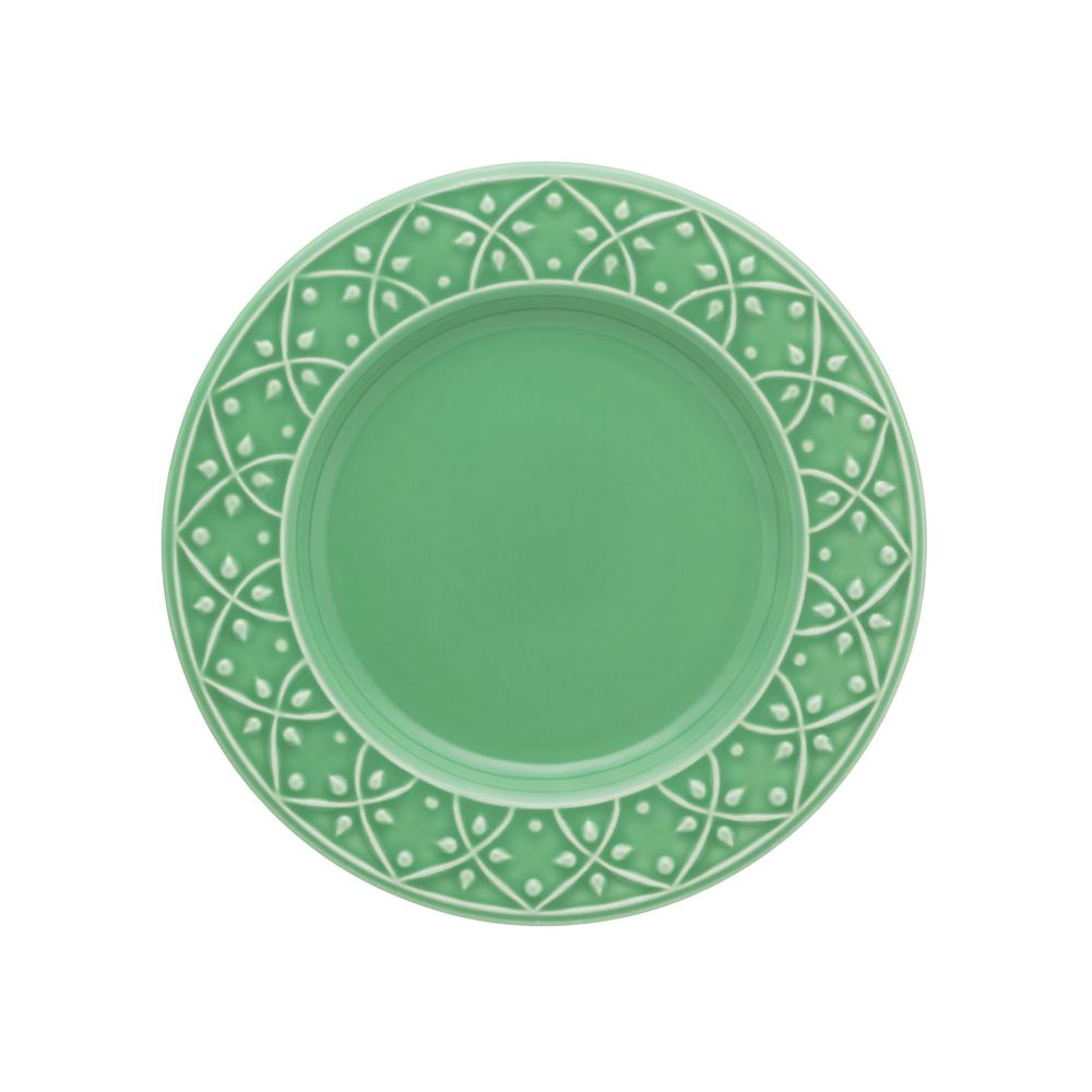 Manhattan Comfort 7.87 in. Mendi Green Salad Plates (Set of 6) was $69.99 now $36.34 (48.0% off)