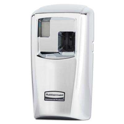 3 in. x 3.5 in. x 7 in. TC Microburst Odor Control System Automatic Air Freshener Dispenser in Chrome