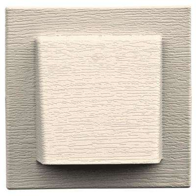 8 in. x 7.875 in. Water Management 4 in. Hooded Vent in Sandstone Beige