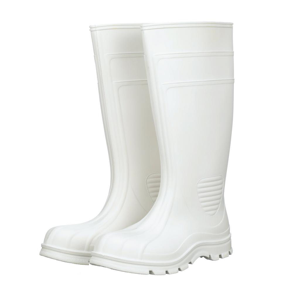 White Marine Tuff PVC Boot-70664
