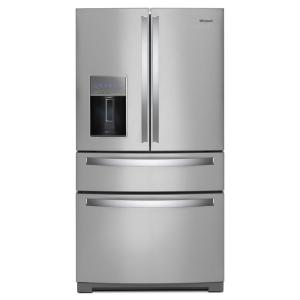 Click here to buy Whirlpool 36 inch 26 cu. ft. French Door Refrigerator in Fingerprint Resistant Stainless Steel by Whirlpool.
