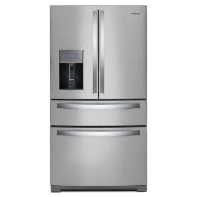 36 in. 26 cu. ft. French Door Refrigerator in Fingerprint Resistant Stainless Steel