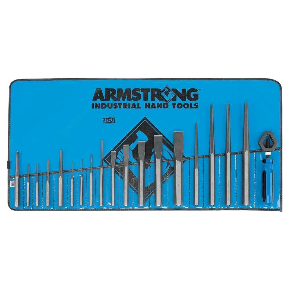 Armstrong Punch and Chisel Set (19-Piece)