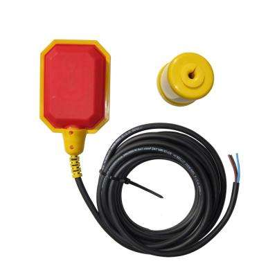 Tethered Float Switch with 16 ft. Cable, Water Tank, Sump Accessory (5-Year Warranty)