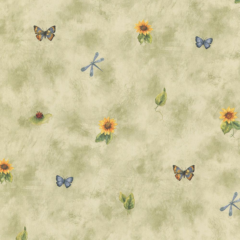 Sunflower Spot Wallpaper