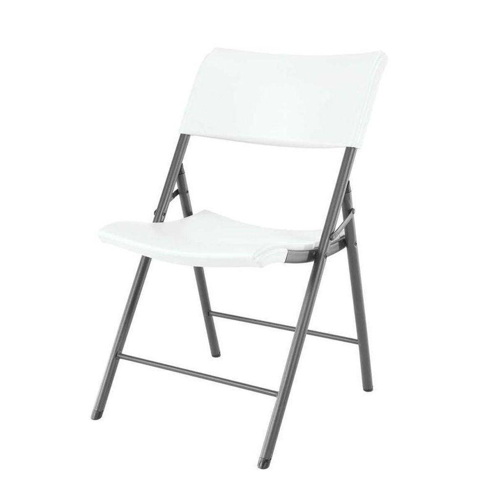 Charmant Lifetime White Folding Chair (Set Of 4)