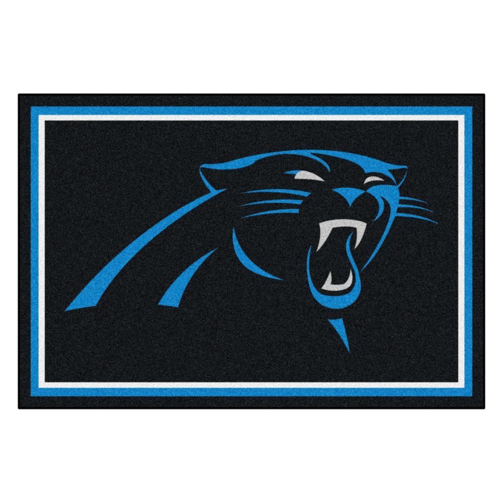 Carolina Panthers 5 ft. x 8 ft. Area Rug
