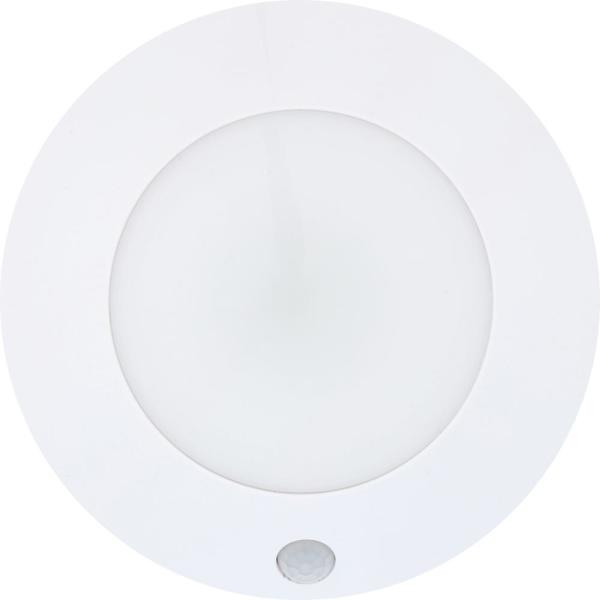 5 in. LED White Battery Powered Puck Light with Sensor