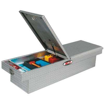 Delta 70 in. Aluminum Double Mid-Lid Dual Lid Full-Size Crossover Tool Box
