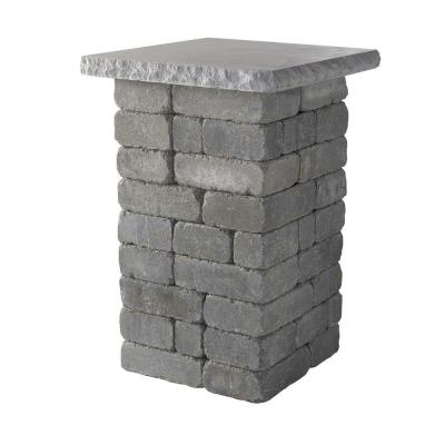 20 in. Bluestone Lakeland Pillar