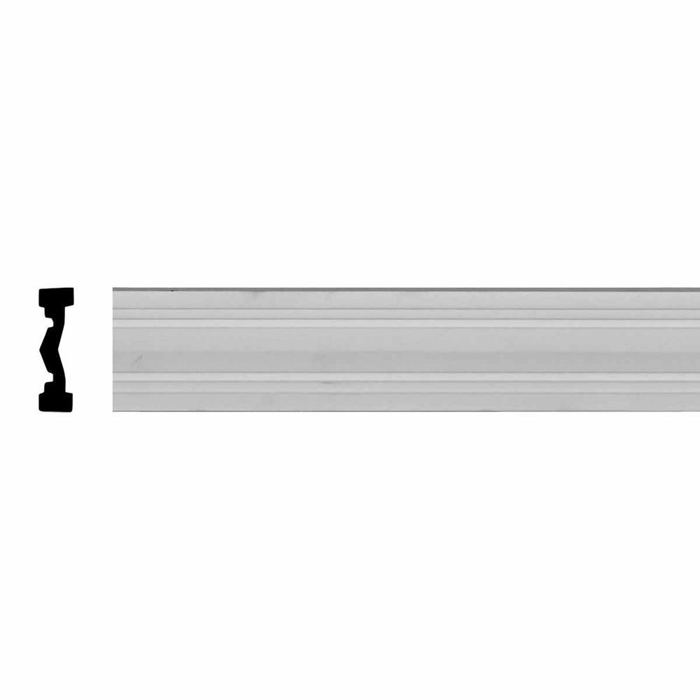 Woodgrain Millwork WM 634 7/16 In. X 3 In. X 96 In. Primed