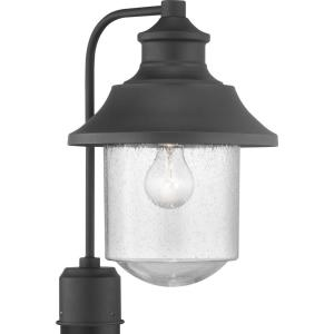 Weldon Collection 1-Light Outdoor Black Post Light